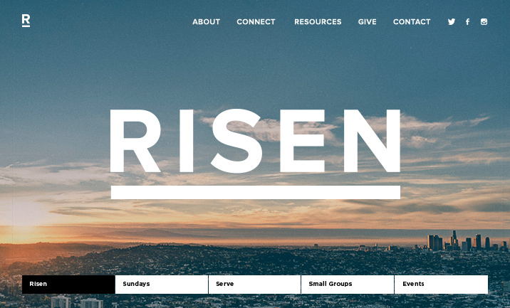 RISEN website
