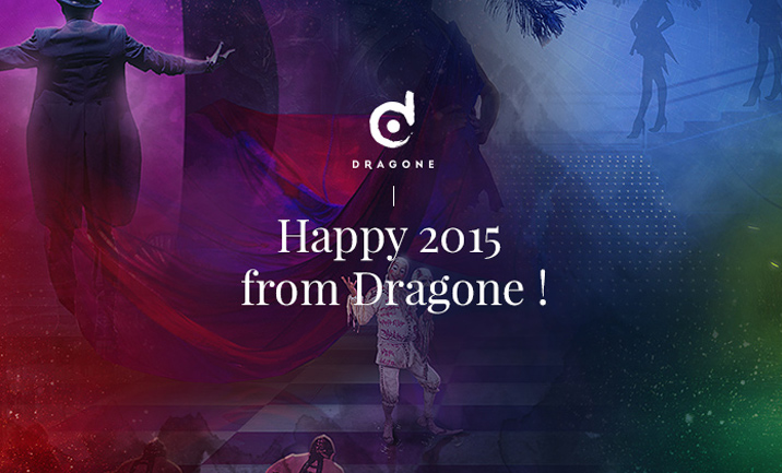 Happy 2015 from Dragone website