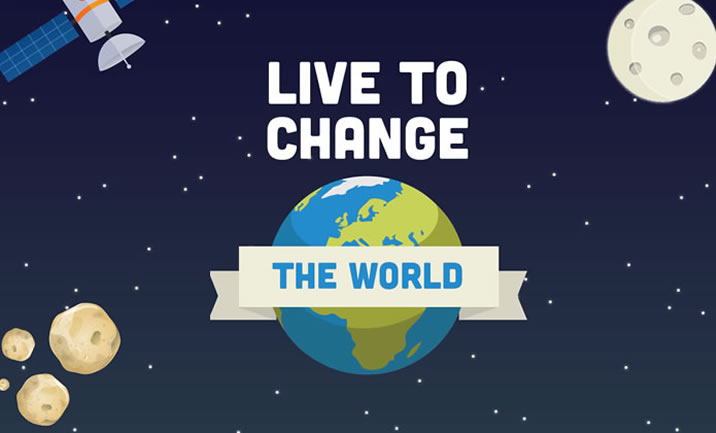Live To Change The World website