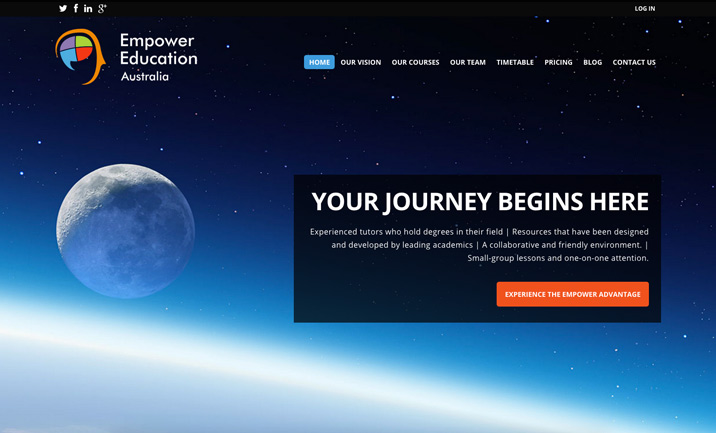 Empower Education website