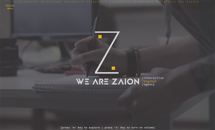 We Are Zaion website