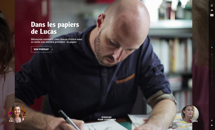 Recyclons nos papiers website