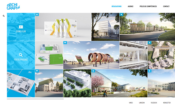 Archi Graphi website
