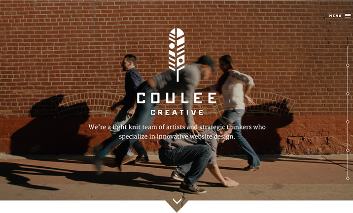 Coulee Creative website