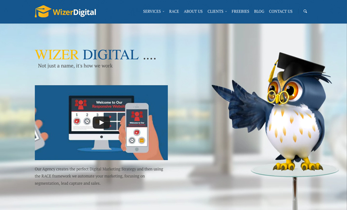 Digital Marketing Agency Surrey  website