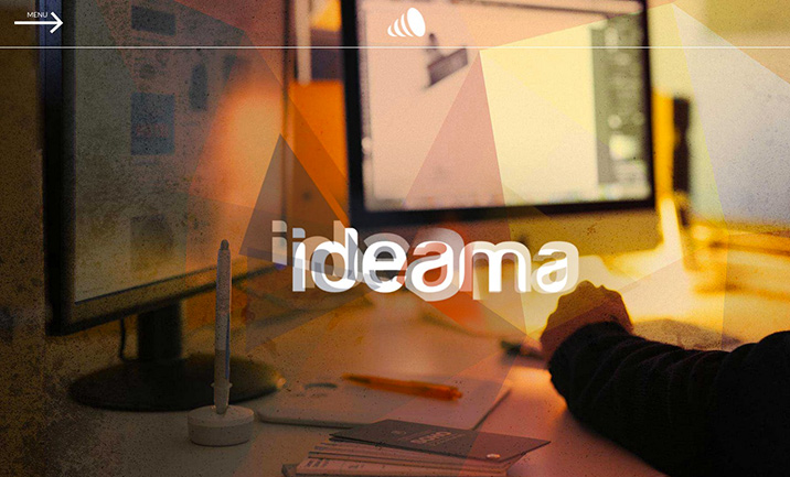 ideama Comunication Agency website