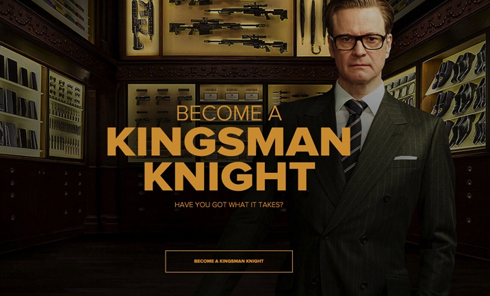 Become a Kingsman website