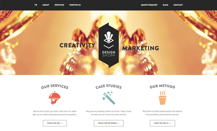 Design Shopp website website