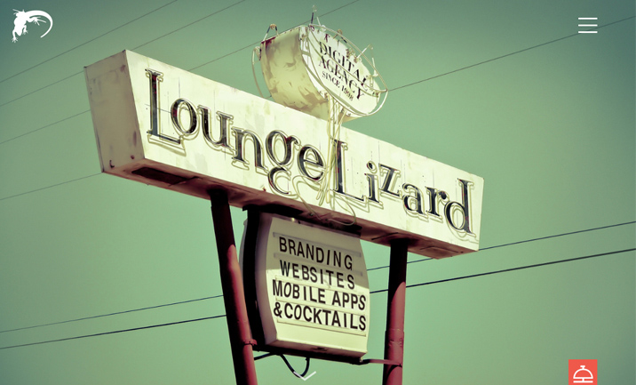 Lounge Lizard website