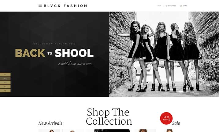 Blvck Multipurpose Fashion Theme website