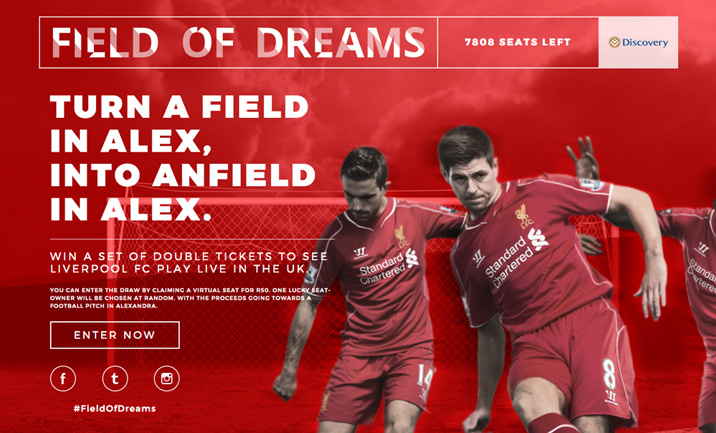 Field Of Dreams website