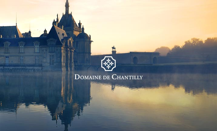 Domaine de Chantilly website