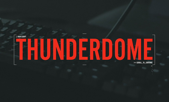 Riot Games: Thunderdome website