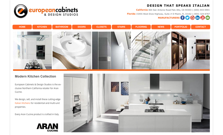 Kitchen, Bathroom & Home Design website