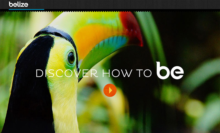 Travel Belize website