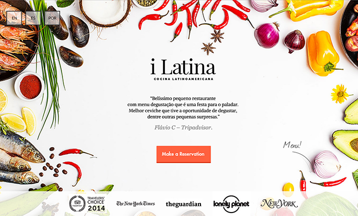 i Latina website