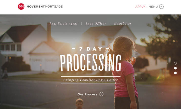 Movement Mortgage website