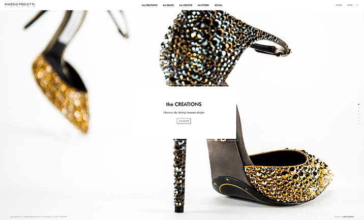 Marco Proietti Design website