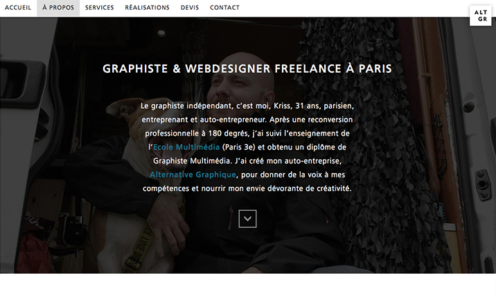 Alternative Graphique website