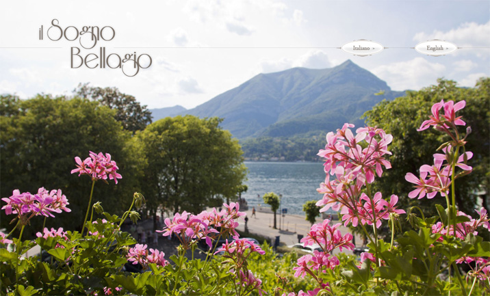 Il Sogno Bellagio website