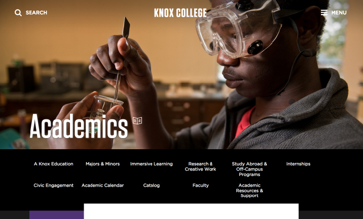 Knox College website
