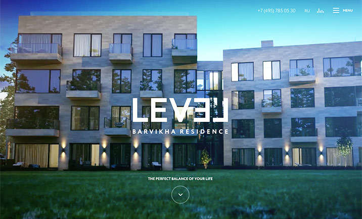 LEVEL website