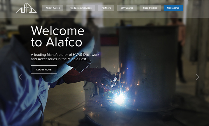 Alafco HVAC website
