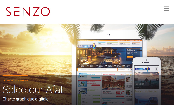 Agence digitale SENZO website