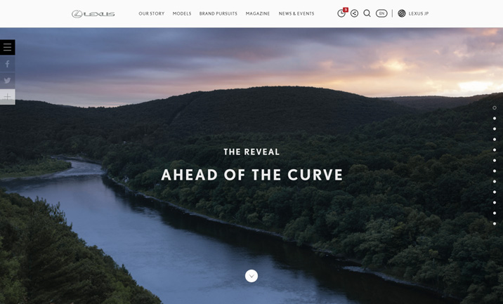 THE REVEAL website