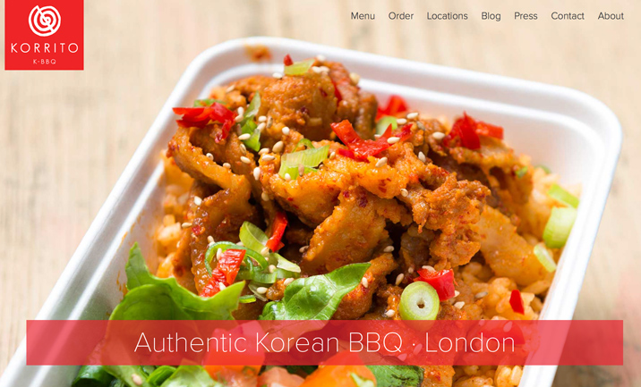 Korrito London website