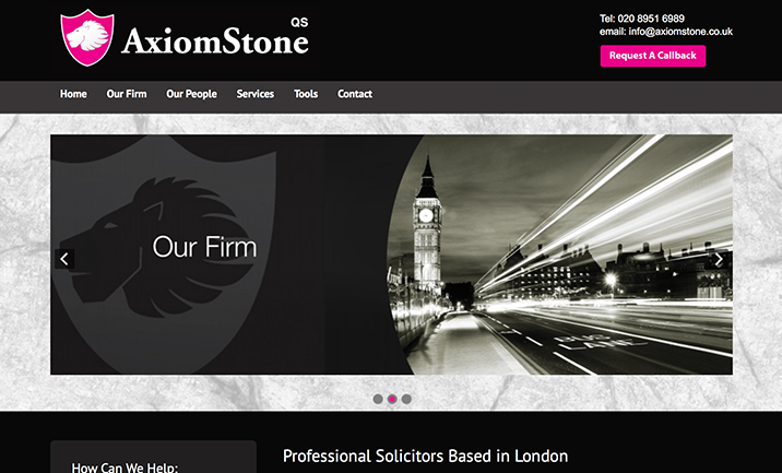 Axiom Stone website