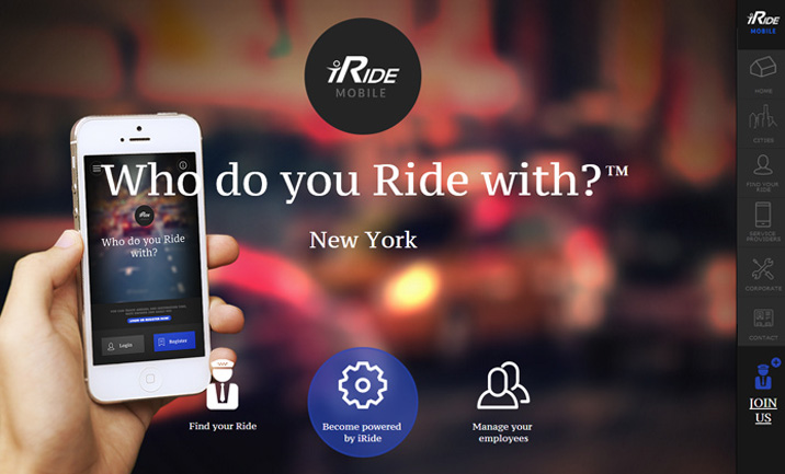 iRide website