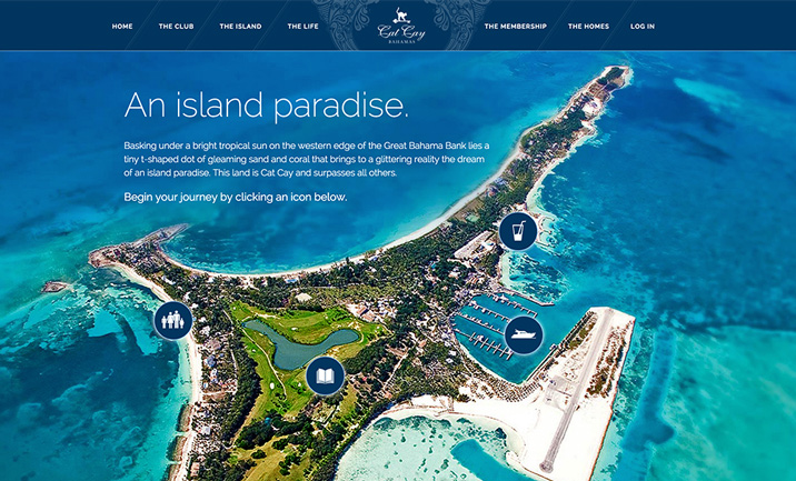 Cat Cay website
