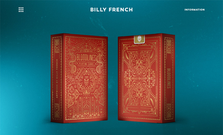 Billy French website