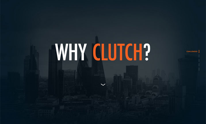 Why Clutch website