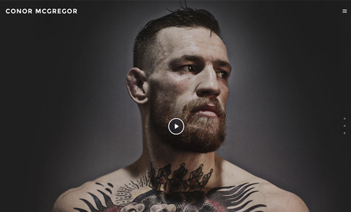 Conor McGregor website