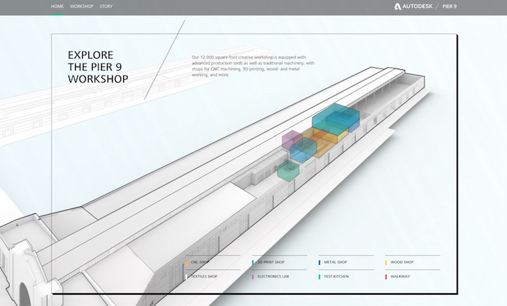 Autodesk Pier 9  website