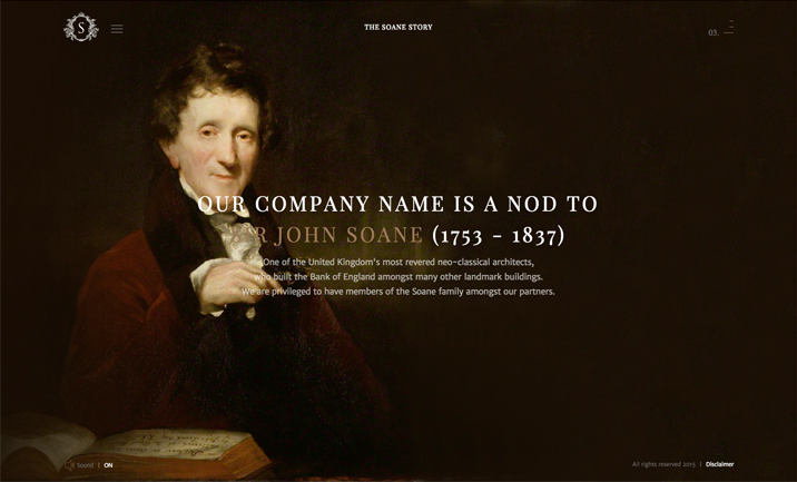 Soane Capital website