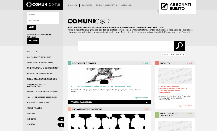 Comunic@re website