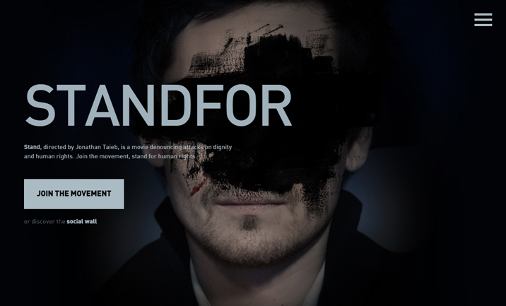 STANDFOR website