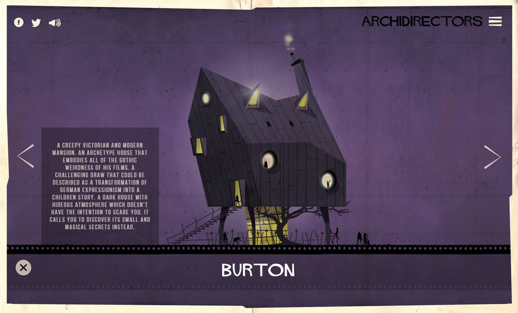 Archidirectors website