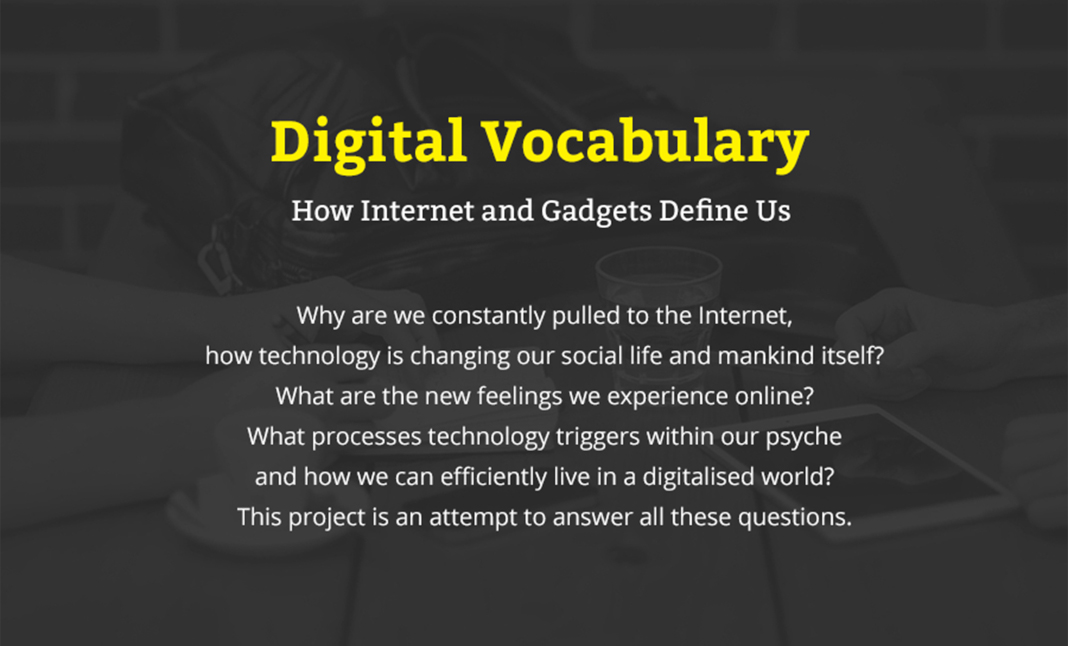 Digital Vocabulary website