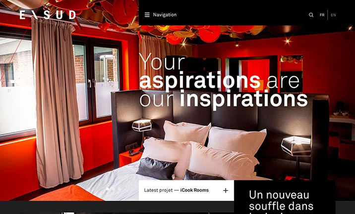Exsud - Interior Architecture website