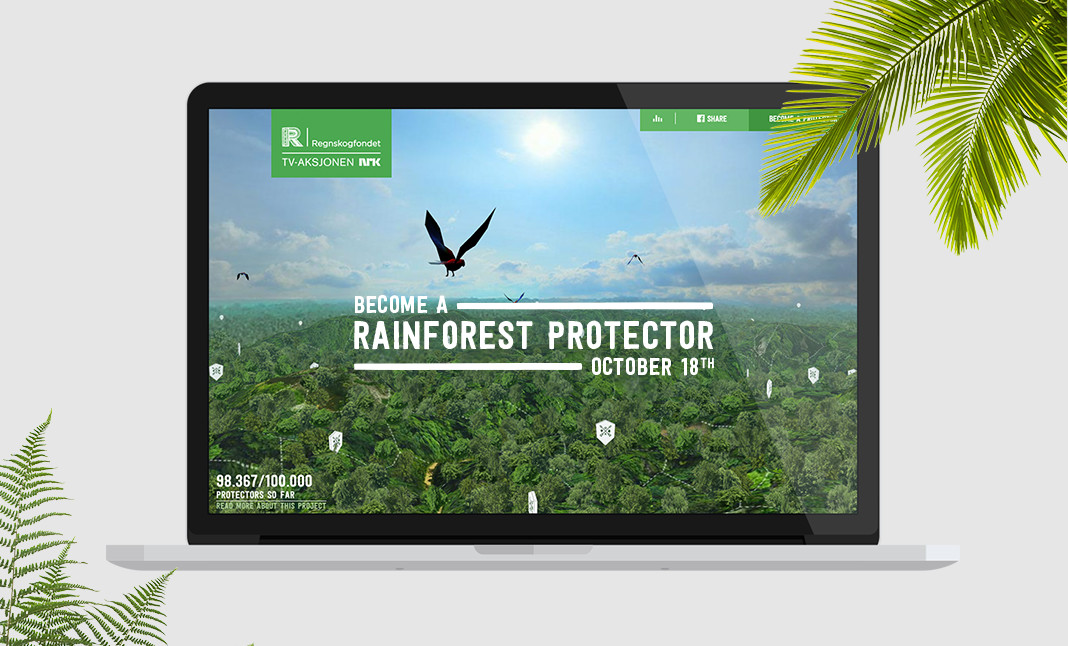 Save The Rainforest website