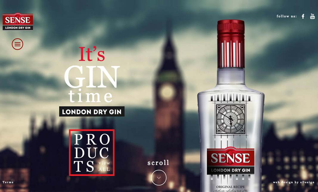 6th Sense London Dry Gin