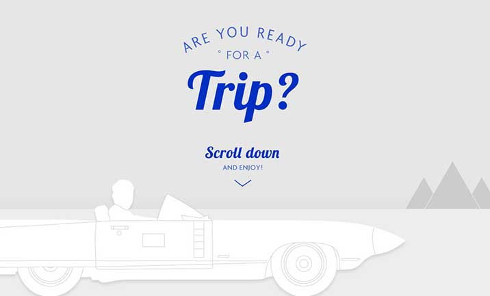 Are you ready for a trip?