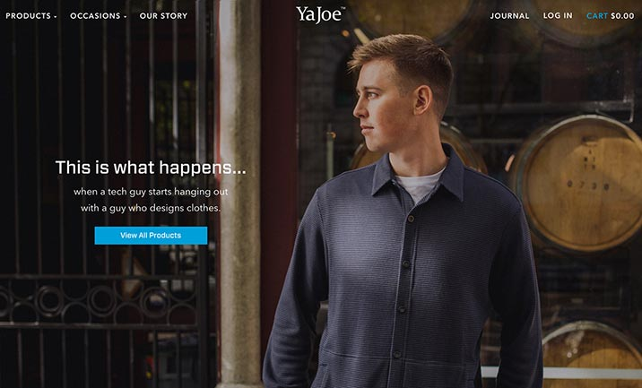 Ya Joe website