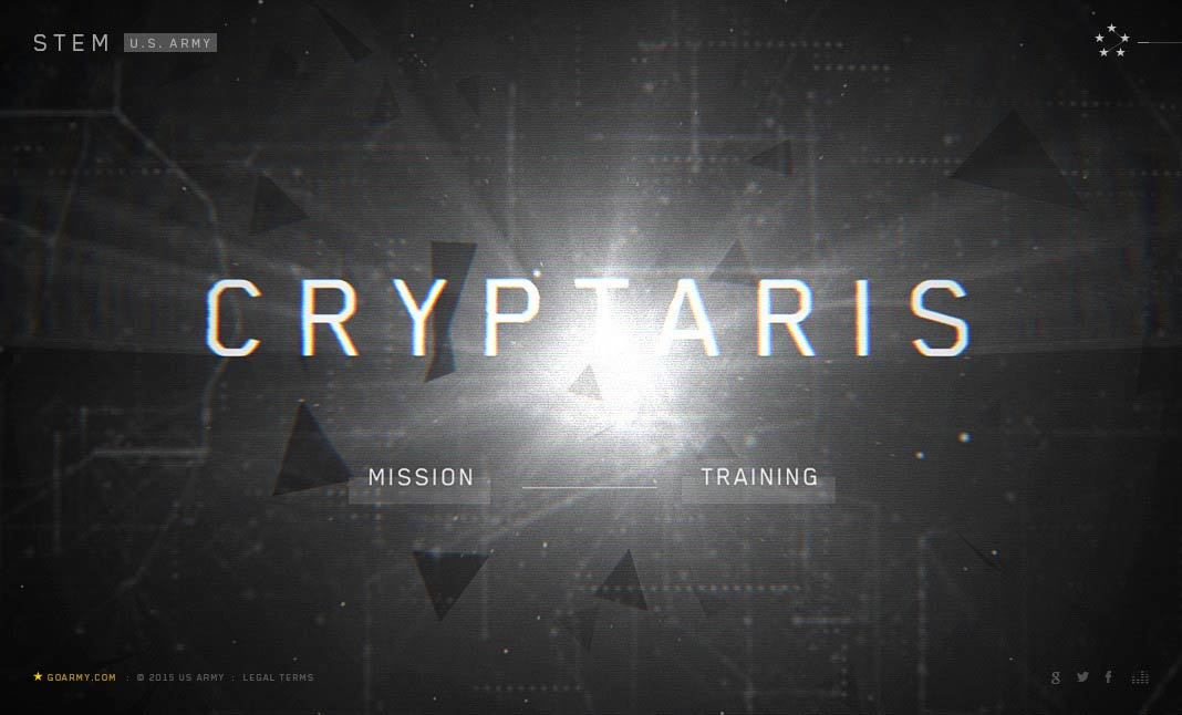 Cryptaris Mission website