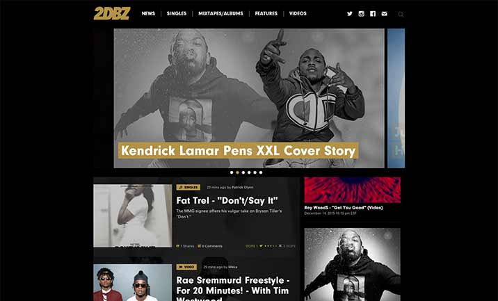 2DopeBoyz website