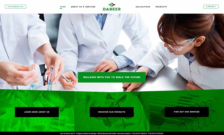 Dabeer website